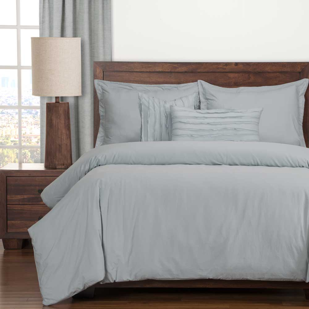 Classic Cotton Blue Bedding Collection