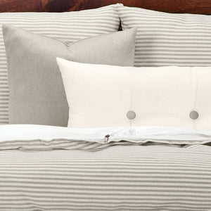 Everlast Stripe Greige Bedding Collection
