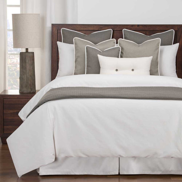 Everlast White & Greige Bedding Collection