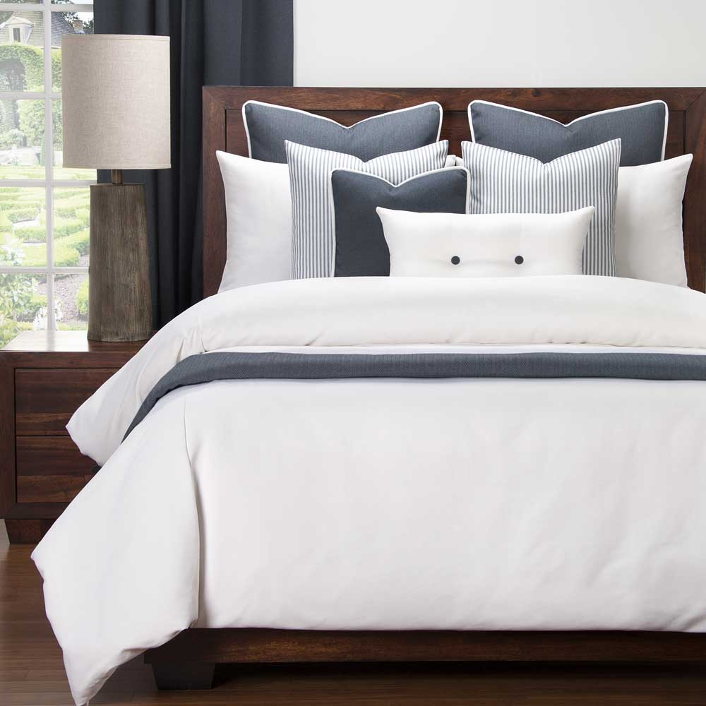 Everlast White & Navy Bedding Collection