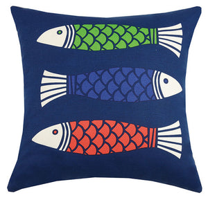 Colorfish Outdoor Pillow  20 in.