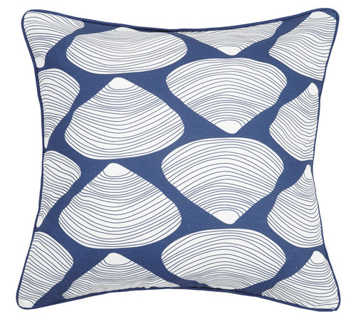 Navy Quahog Pillow 20 in.