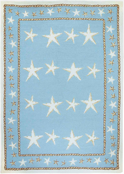 Starfish Scatter Indoor-Outdoor Area Rug