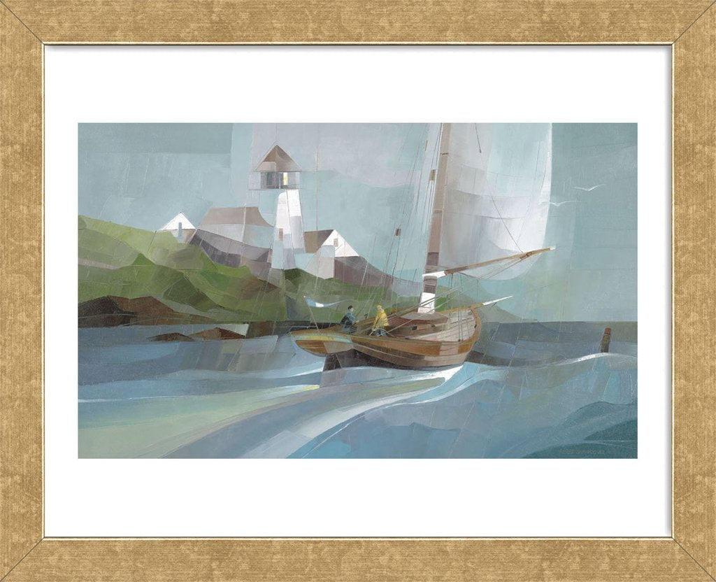 The Wanderer Framed Art Print -  Artist Albert Swayhoover