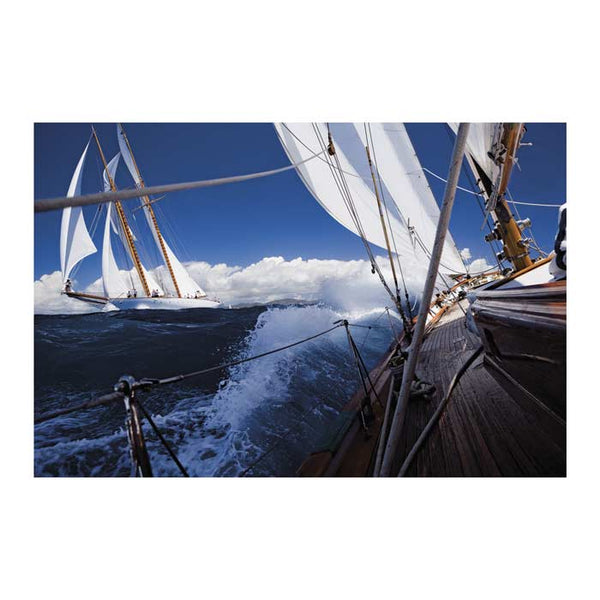 Sailing 42480 Canvas Art Print - Artist  Cory Silken