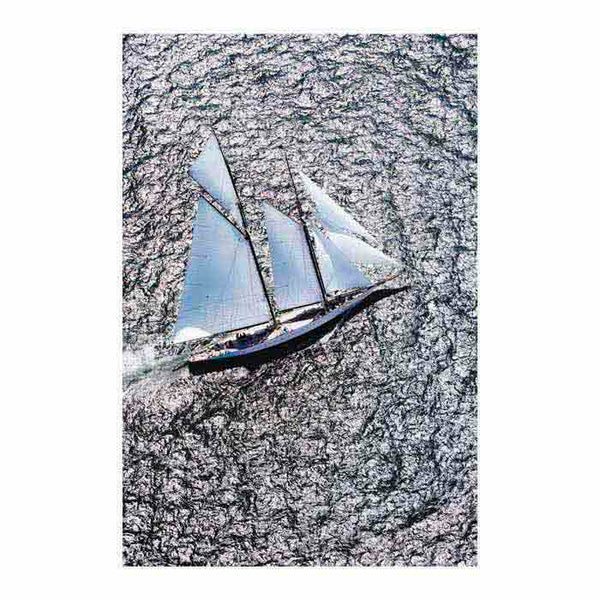 Sailing 42612 Canvas Art Print - Artist Cory Silken