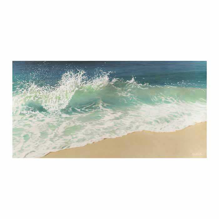 Tickle Wave Canvas Art Print - Artist Robin Renee Hix