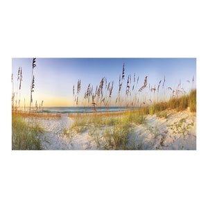 Along the Strand Canvas Art Print - Artist Doug Cavanaugh