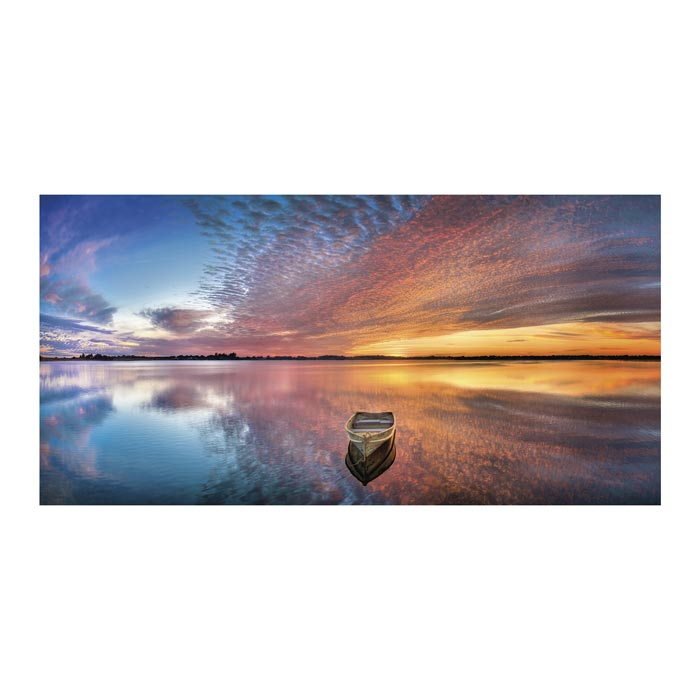 Reflection Bay Canvas Art Print - Artist Doug Cavanaugh
