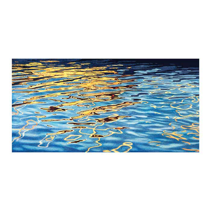Light on Water II Canvas Art Print - Artist Stephen Ehret