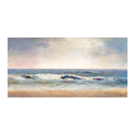 Surf Spray 2 Canvas Art Print - Artist John Young