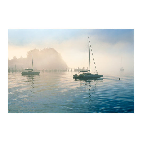 Bay Morning Canvas Art Print - Artist  E. Loren Soderberg