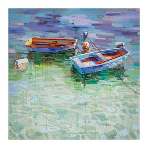 Boats and Buoys 1 Giclee Canvas Print - Artist  Sydni Sterling
