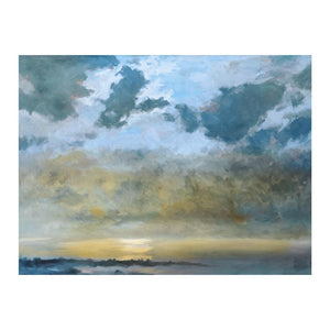 Evening Descends Canvas Art Print - Artist Douglas Edwards