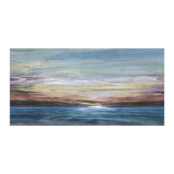 Folded Sky Canvas Art Print - Artist John Butler