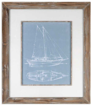 Yacht Sketches - Set of 2