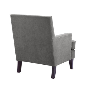 Arm Club Chair - Grey