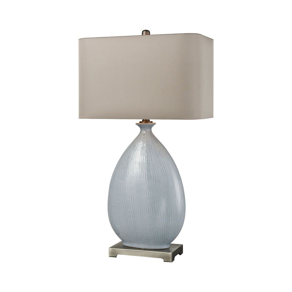 Blue Lace Table Lamp