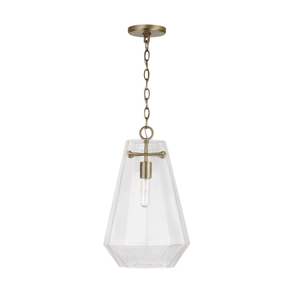 Capital Lighting 1 Light Pendant 338316AD Coastal Lighting