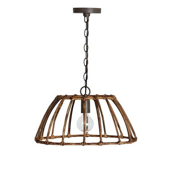 Capital Lighting 1 Light Pendant 335711BY Coastal Lighting