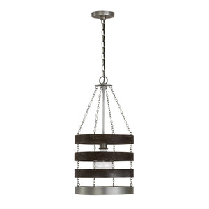 Capital Lighting 1 Light Pendant 335811CM Coastal Lighting