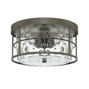 Capital Lighting 2 Light Flush Mount 225021FH Coastal Lighting