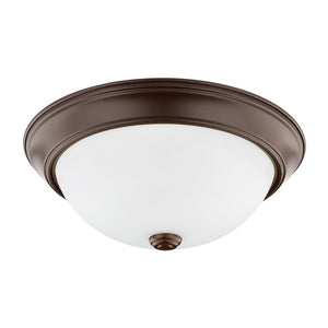 Capital Lighting 2 Light Flush Mount 214722BZ Coastal Lighting