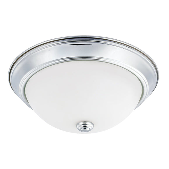 Capital Lighting 2 Light Flush Mount 214722CH Coastal Lighting