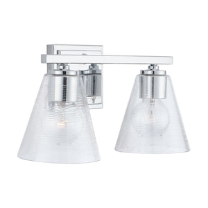 Capital Lighting 2 Light Vanity 138323CH-493 Coastal Lighting