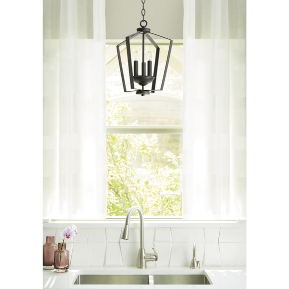 Quorum 3 Light Foyer Chandelier - NR 894-3-69 Coastal Lighting