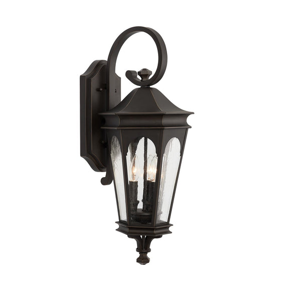 Capital Lighting 3 Light Outdoor Wall Lantern 939731OZ Coastal Lighting