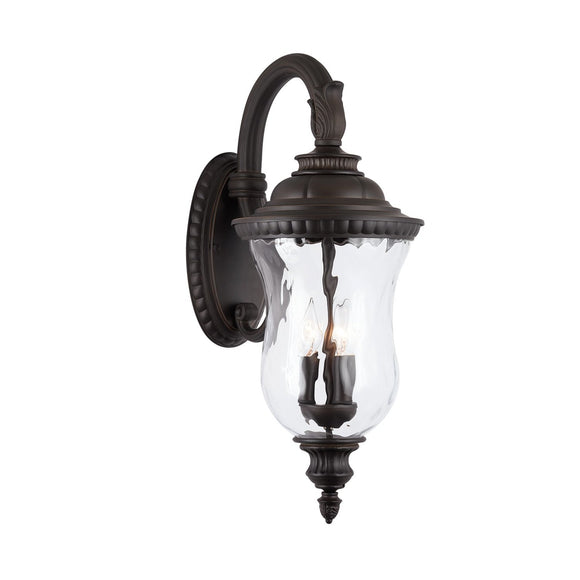 Capital Lighting 3 Light Outdoor Wall Lantern 939831OZ Coastal Lighting