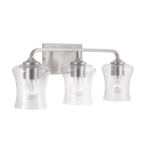 Capital Lighting 3 Light Vanity 139231BN-499 Coastal Lighting