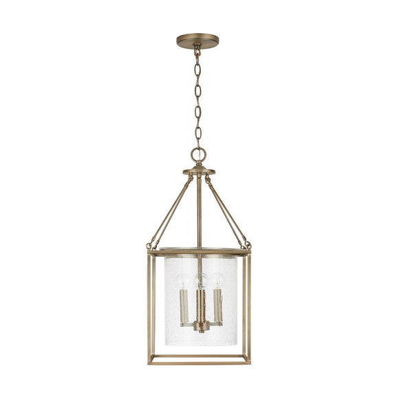 Capital Lighting 4 Light Pendant 532843AD Coastal Lighting