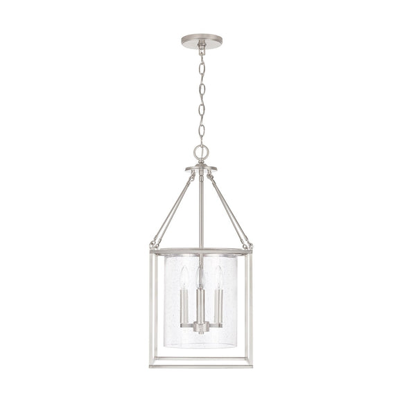 Capital Lighting 4 Light Pendant 532843BN Coastal Lighting