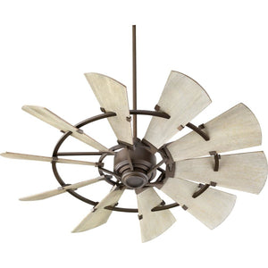 Quorum 52 Windmill Ceiling Fan - Oiled Bronze 95210-86 Coastal Lighting
