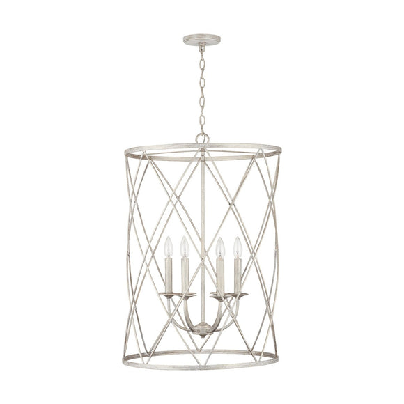 Capital Lighting 6 Light Foyer 538365WW Coastal Lighting