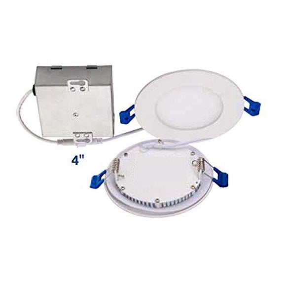 Topaz 77229-1 Topaz Lighting (Pack of 1 ) 9W Slim 4 Dimmable Recessed Ceiling Downlight Coastal Lighting