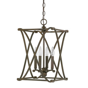 Capital Lighting Alexander Four Light Foyer Fixture 9691BB Coastal Lighting