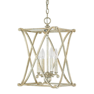 Capital Lighting Alexander Four Light Foyer Fixture 9691WG Coastal Lighting