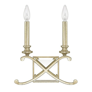 Capital Lighting Alexander Two Light Wall Sconce 8062WG Coastal Lighting