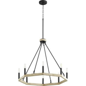 Quorum ALPINE 8LT CHANDELIER 6189-8-69 Coastal Lighting