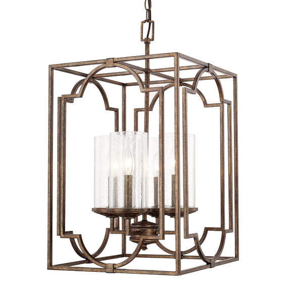 Capital Lighting Avanti Four Light Foyer Pendant 517641RT-376 Coastal Lighting