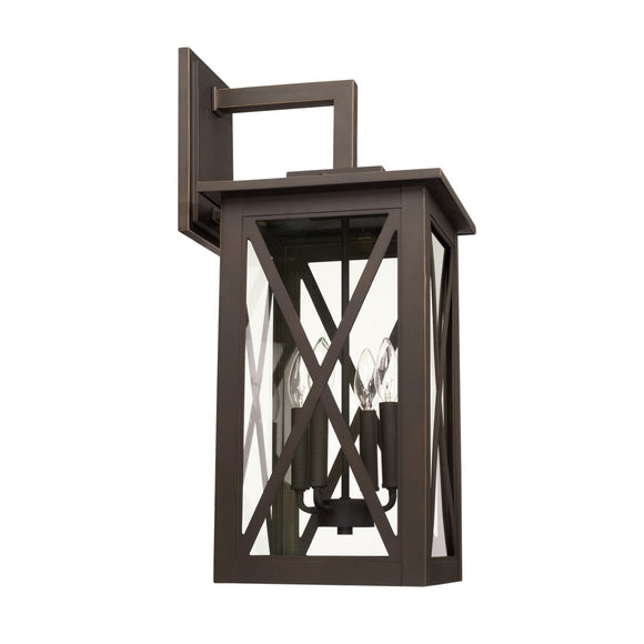 Capital Lighting Avondale Four Light Outdoor Wall Lantern 926641OZ Coastal Lighting