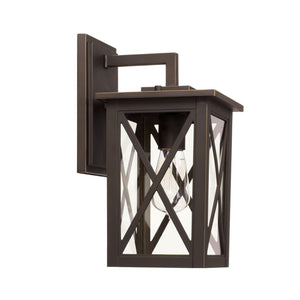 Capital Lighting Avondale One Light Outdoor Wall Lantern 926611OZ Coastal Lighting