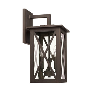 Capital Lighting Avondale Three Light Outdoor Wall Lantern 926631OZ Coastal Lighting