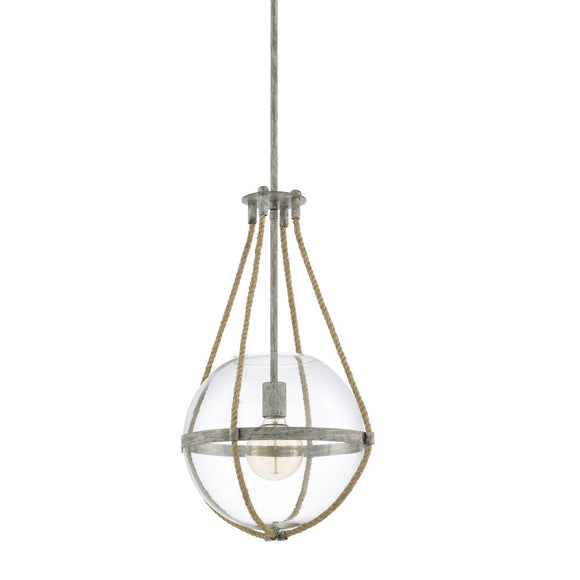 Capital Lighting Beaufort One Light Pendant 327413MS Coastal Lighting