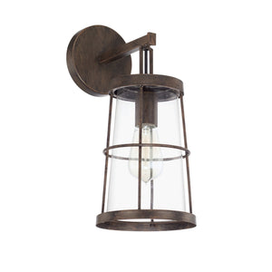 Capital Lighting Beaufort One Light Wall Sconce 627411NG Coastal Lighting
