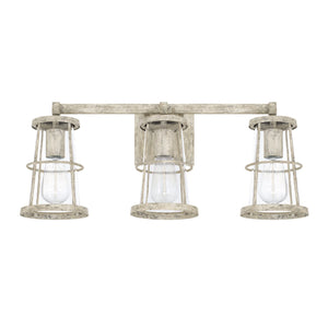 Capital Lighting Beaufort Three Light Vanity Fixture 127431MS Coastal Lighting