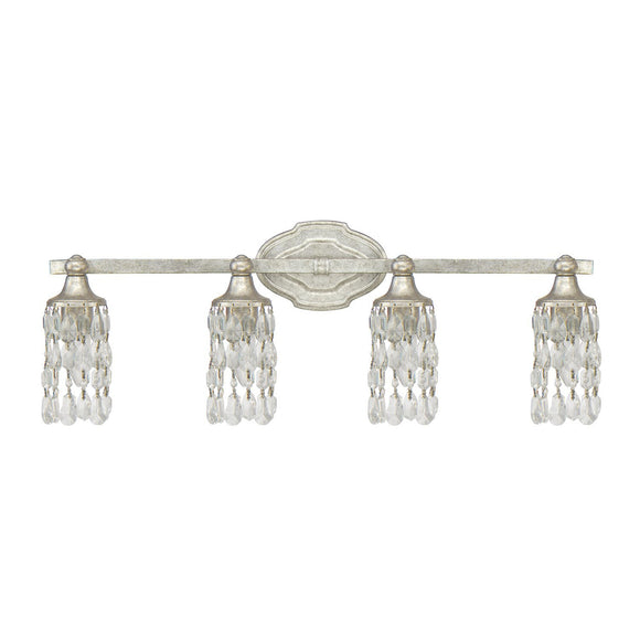 Capital Lighting Blakely Four Light Vanity 8524AS-CR Coastal Lighting